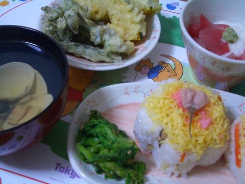 3/3  サクラのちらし寿司