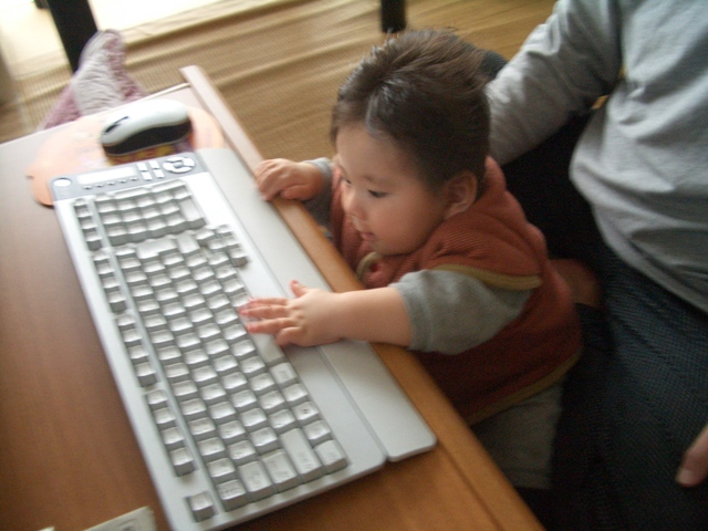 パパとパソコン